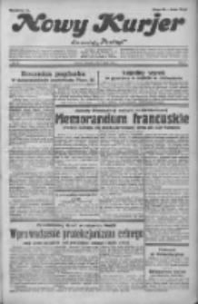 """Nowy Kurjer: dawniej """"Postęp"""" 1932.02.07 R.43 Nr30"""