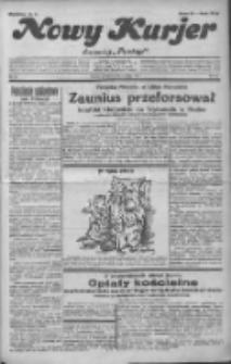 """Nowy Kurjer: dawniej """"Postęp"""" 1932.02.21 R.43 Nr42"""