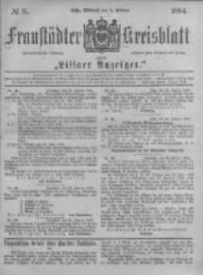 Fraustädter Kreisblatt. 1884.02.06 Nr11