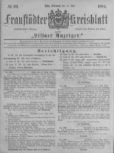Fraustädter Kreisblatt. 1884.05.14 Nr39