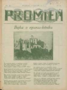 Promień: ilustrowany dwutygodnik dla wszystkich 1928.06.01 R.4 Nr11