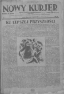Nowy Kurjer: dziennik poświęcony sprawom politycznym i społecznym 1937.01.01 R.48 Nr1