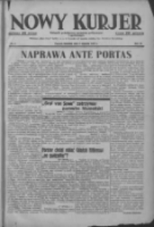 Nowy Kurjer: dziennik poświęcony sprawom politycznym i społecznym 1937.01.03 R.48 Nr2