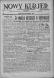 Nowy Kurjer: dziennik poświęcony sprawom politycznym i społecznym 1937.01.17 R.48 Nr13