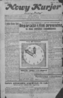 """Nowy Kurjer: dawniej """"Postęp"""" 1932.01.01 R.43 Nr1"""