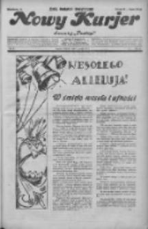 """Nowy Kurjer: dawniej """"Postęp"""" 1932.03.27 R.43 Nr72"""