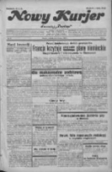 """Nowy Kurjer: dawniej """"Postęp"""" 1932.03.31 R.43 Nr74"""