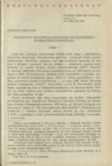 Dokumenty Archiwum Koronnego Krakowskiego w Bibliotece Kórnickiej. Część I. Pamiętnik Biblioteki Kórnickiej Z. 17.