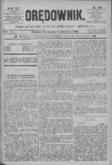 Orędownik: pismo poświęcone sprawom politycznym i spółecznym 1885.06.04 R.15 Nr125