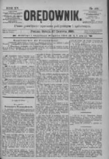 Orędownik: pismo poświęcone sprawom politycznym i spółecznym 1885.06.27 R.15 Nr144