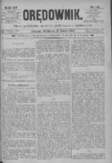 Orędownik: pismo poświęcone sprawom politycznym i spółecznym 1885.07.19 R.15 Nr162