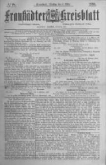 Fraustädter Kreisblatt. 1885.03.03 Nr18