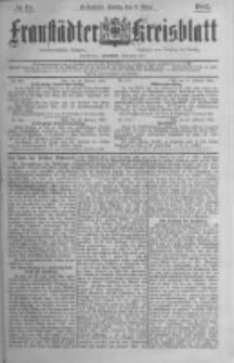 Fraustädter Kreisblatt. 1885.03.06 Nr19