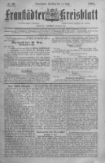 Fraustädter Kreisblatt. 1885.04.14 Nr30