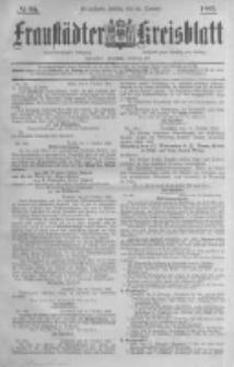 Fraustädter Kreisblatt. 1885.10.23 Nr85