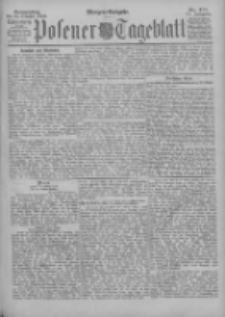Posener Tageblatt 1896.10.22 Jg.35 Nr497