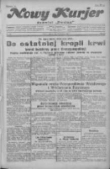 """Nowy Kurjer: dawniej """"Postęp"""" 1930.09.09 R.41 Nr208"""