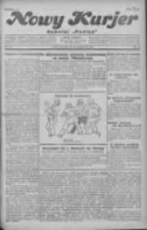 """Nowy Kurjer: dawniej """"Postęp"""" 1930.10.16 R.41 Nr240"""