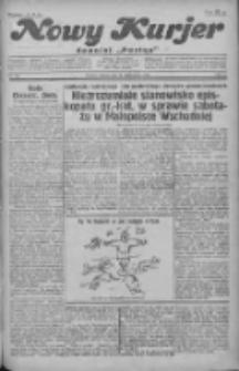 """Nowy Kurjer: dawniej """"Postęp"""" 1930.10.21 R.41 Nr244"""