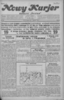 """Nowy Kurjer: dawniej """"Postęp"""" 1930.11.11 R.41 Nr261"""