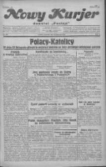 """Nowy Kurjer: dawniej """"Postęp"""" 1930.11.20 R.41 Nr269"""