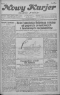 """Nowy Kurjer: dawniej """"Postęp"""" 1930.12.16 R.41 Nr290"""