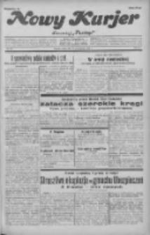 """Nowy Kurjer: dawniej """"Postęp"""" 1931.10.10 R.42 Nr234"""