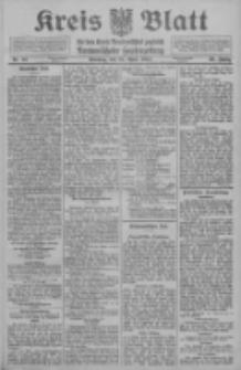 Kreis Blatt für den Kreis Neutomischeler zugleich Hopfenzeitung 1911.04.25 Jg.30 Nr33