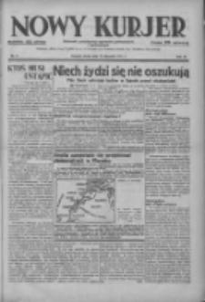 Nowy Kurjer: dziennik poświęcony sprawom politycznym i społecznym 1937.01.13 R.48 Nr9