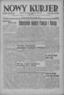 Nowy Kurjer: dziennik poświęcony sprawom politycznym i społecznym 1937.01.14 R.48 Nr10