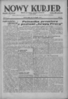 Nowy Kurjer: dziennik poświęcony sprawom politycznym i społecznym 1937.01.15 R.48 Nr11