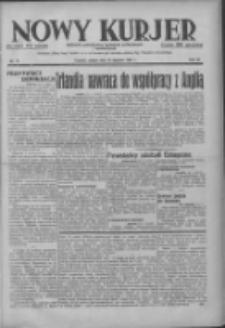 Nowy Kurjer: dziennik poświęcony sprawom politycznym i społecznym 1937.01.16 R.48 Nr12