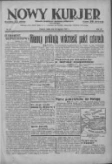 Nowy Kurjer: dziennik poświęcony sprawom politycznym i społecznym 1937.01.20 R.48 Nr15