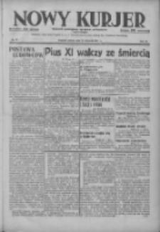 Nowy Kurjer: dziennik poświęcony sprawom politycznym i społecznym 1937.01.22 R.48 Nr17