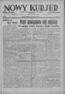 Nowy Kurjer: dziennik poświęcony sprawom politycznym i społecznym 1937.01.26 R.48 Nr20