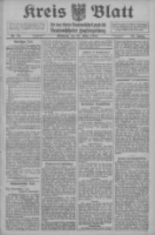Kreis Blatt für den Kreis Neutomischeler zugleich Hopfenzeitung 1914.03.25 Jg.38 Nr36