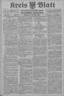 Kreis Blatt für den Kreis Neutomischeler zugleich Hopfenzeitung 1914.05.20 Jg.38 Nr59