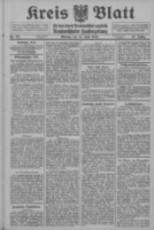 Kreis Blatt für den Kreis Neutomischeler zugleich Hopfenzeitung 1914.06.15 Jg.38 Nr69