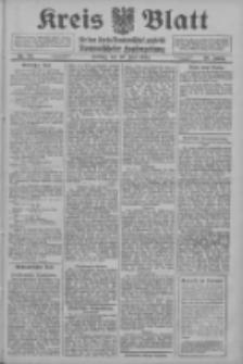 Kreis Blatt für den Kreis Neutomischeler zugleich Hopfenzeitung 1914.07.10 Jg.38 Nr80