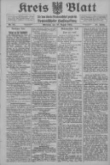 Kreis Blatt für den Kreis Neutomischeler zugleich Hopfenzeitung 1914.08.12 Jg.38 Nr94