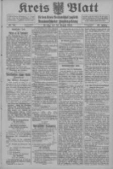Kreis Blatt für den Kreis Neutomischeler zugleich Hopfenzeitung 1914.08.14 Jg.38 Nr95