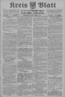 Kreis Blatt für den Kreis Neutomischeler zugleich Hopfenzeitung 1914.08.19 Jg.38 Nr97