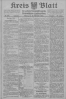 Kreis Blatt für den Kreis Neutomischeler zugleich Hopfenzeitung 1914.11.16 Jg.38 Nr135