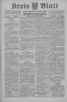 Kreis Blatt für den Kreis Neutomischeler zugleich Hopfenzeitung 1915.04.12 Jg.40 Nr43