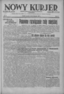 Nowy Kurjer: dziennik poświęcony sprawom politycznym i społecznym 1937.01.28 R.48 Nr22