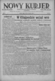 Nowy Kurjer: dziennik poświęcony sprawom politycznym i społecznym 1937.01.29 R.48 Nr23