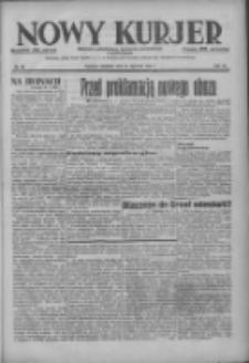 Nowy Kurjer: dziennik poświęcony sprawom politycznym i społecznym 1937.01.31 R.48 Nr25