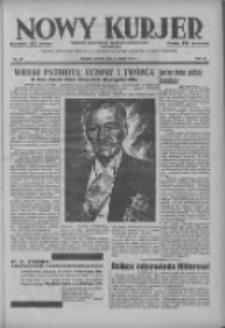 Nowy Kurjer: dziennik poświęcony sprawom politycznym i społecznym 1937.02.02 R.48 Nr26