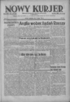 Nowy Kurjer: dziennik poświęcony sprawom politycznym i społecznym 1937.02.04 R.48 Nr27