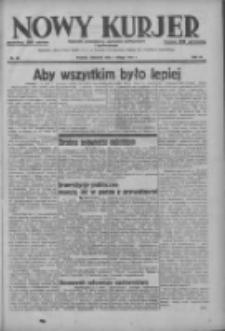 Nowy Kurjer: dziennik poświęcony sprawom politycznym i społecznym 1937.02.07 R.48 Nr30